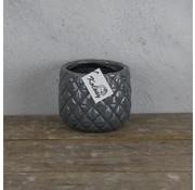 Cactuspotje Grey 14 x 11 cm.