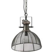 Hanglamp met Gaas - Zwart - Metaal - 37 x 41 cm