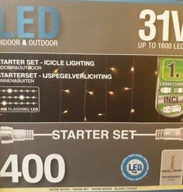 IJspegelverlichting Startset met 400 LED's voor binnen en buiten| IP44