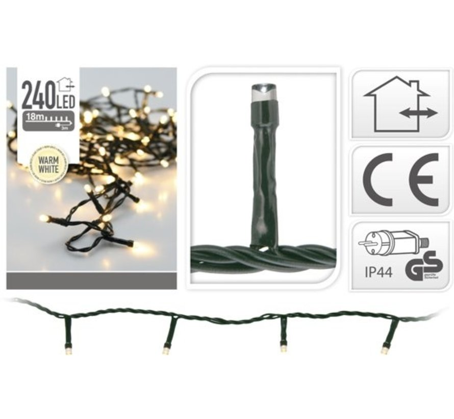 Nampook Kerstboomverlichting - Led 240 Ww - Buiten - 18 M