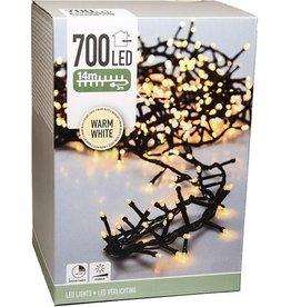 Lichtsnoer/ Kerstverlichting 17 meter   700 LED's