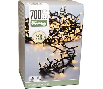 Lichtsnoer/ Kerstverlichting 17 meter | 700 LED's