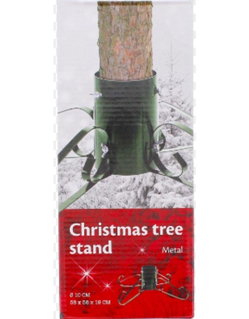 Kerstboomstandaard of kerstboomvoet - donkergroen en erg stevig! - 10 cm