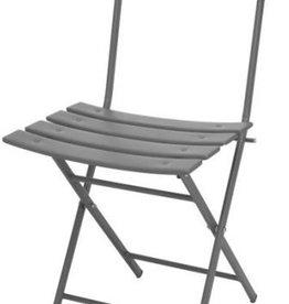 Bistrostoel Oval Frame - Grijs - 80 cm Hoog