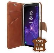 Valenta Bruin Booklet Premium Samsung Galaxy S9