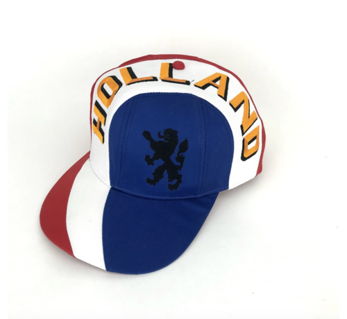 Voetbal Pet Holland   Rood-Wit-Blauw