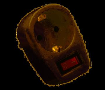 VB 41208 Single Transit Plug + RA + Switch (not for BE)