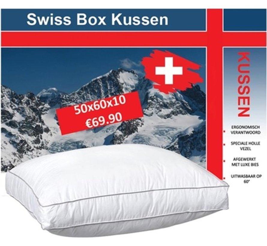 Swiss Boxkussen Pillow | Set van 2 stuks