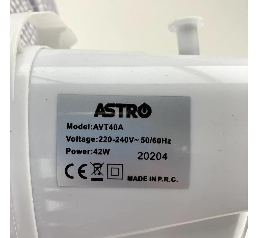 Astro Floor Fan White Ø40 cm