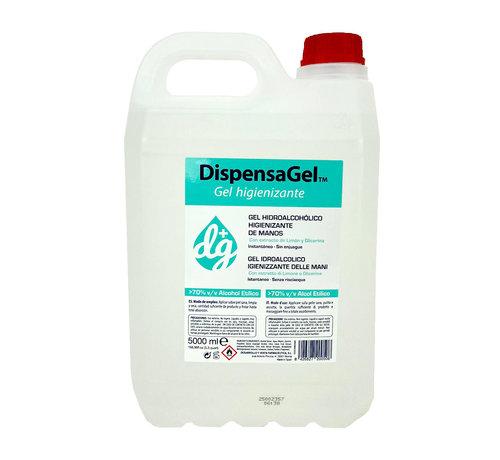 Jerrycan 5 liter desinfecterende handgel
