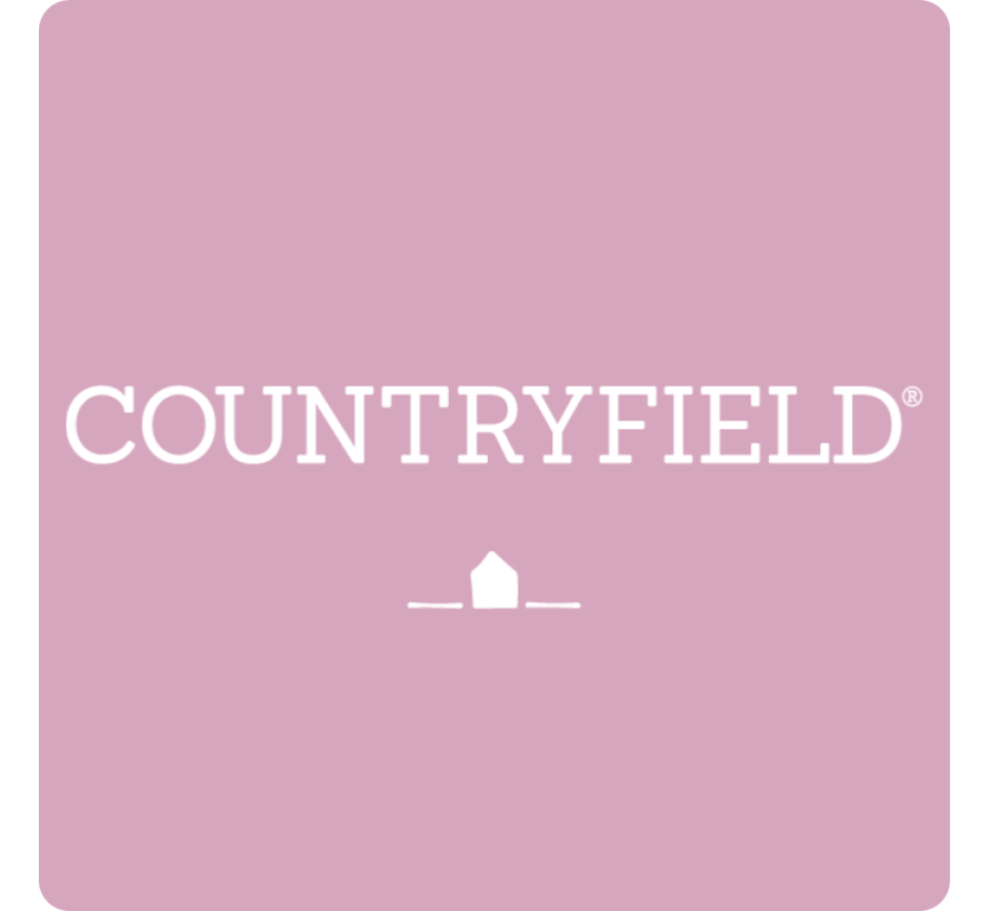 Set of six candles Countryfield 14cm   White