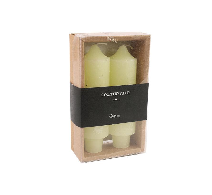 Set van 2 kaarsen Countryfield 12,5cm | Crème