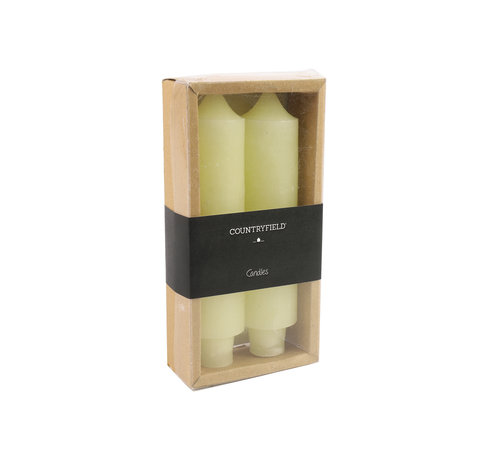 Countryfield Set of two candles Countryfield 15,5cm | Cream