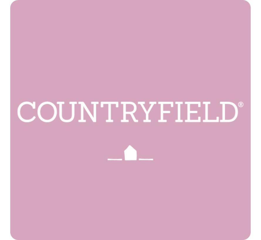 Country Stompkaars mit Rippe Rosa Ø7 cm | Höhe 15 cm