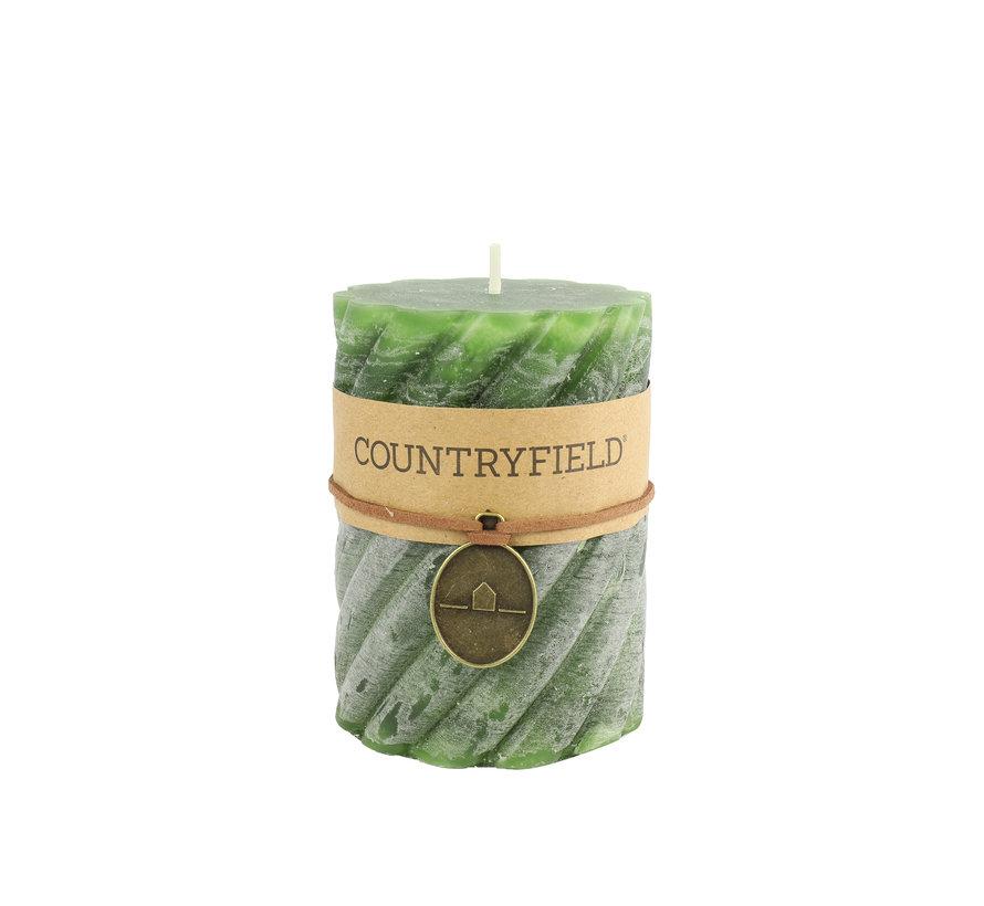 Countryfield Stompkaars met ribbel Groen Ø7 cm | Hoogte 15 cm