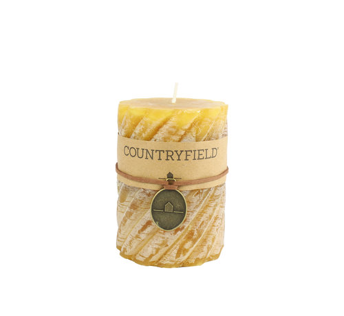 Countryfield Countryfield Stompkaars met ribbel Amber Ø7 cm | Hoogte 15 cm