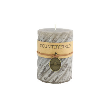 Countryfield Countryfield Stompkaars with rib Gray Ø7 cm | Height 7.5 cm