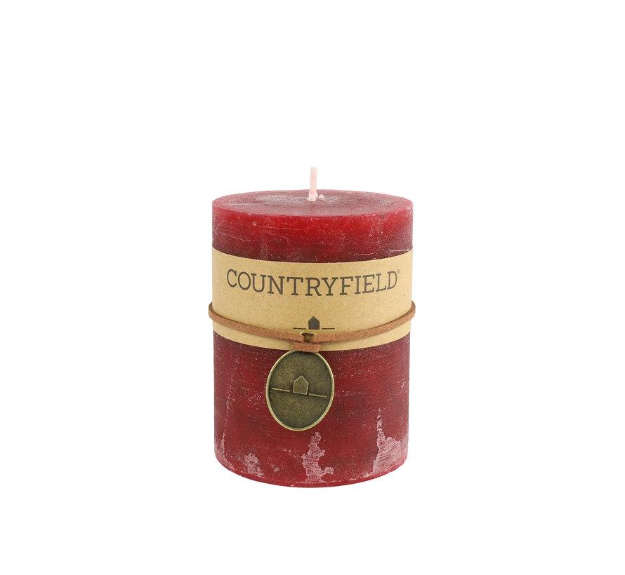 Countryfield Stompkaars Rood Ø7 cm | Hoogte 7,2 cm