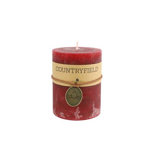 Countryfield Countryfield Stompkaars Rood Ø7 cm   Hoogte 9,5 cm