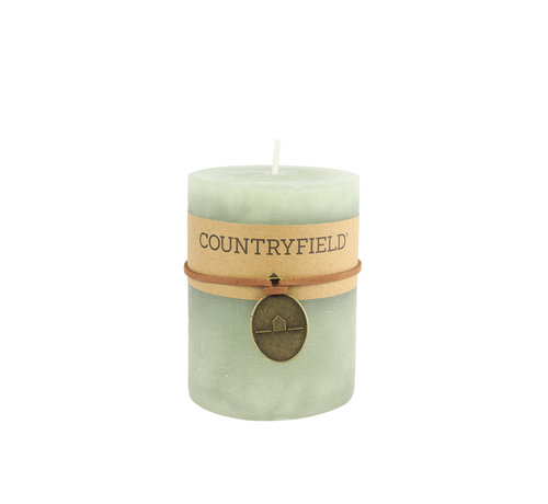 Countryfield Country Pillar Candle Light Ø7 cm | Höhe 14 cm