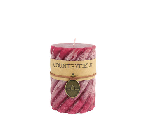 Countryfield Country Stompkaars mit Rippe Lila Ø7 cm   Höhe 10 cm