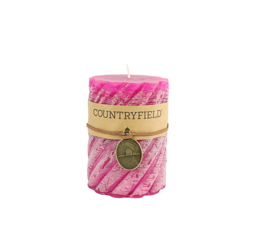 Countryfield Country Stompkaars mit Rippe Fuchsia Ø7 cm | Höhe 15 cm