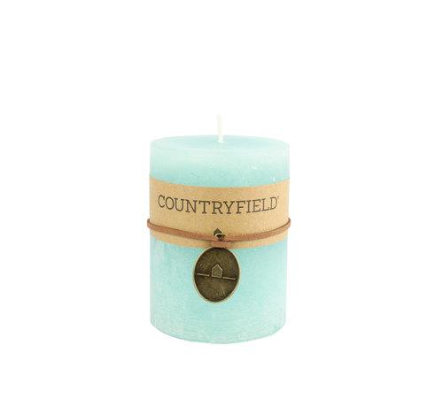 Countryfield Countryfield Stompkaars Turquoise Ø7 cm | Hoogte 14 cm
