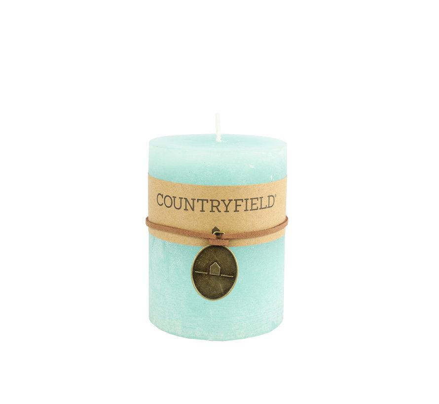 Countryfield Stompkaars Turquoise Ø7 cm | Hoogte 14 cm
