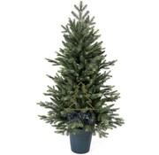Royal Christmas Kleine Kunstkerstboom in pot 105 cm met LED