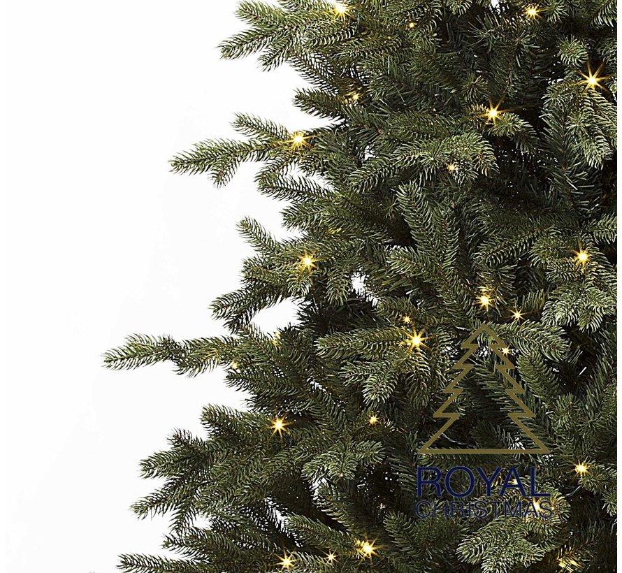 Kunstkerstboom Spitsbergen 120 cm met LED + Smart Adapter | Royal Christmas®
