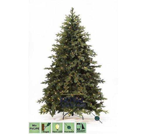 Royal Christmas Kunstkerstboom Spitsbergen 300 cm met LED + Smart Adapter | Royal Christmas®