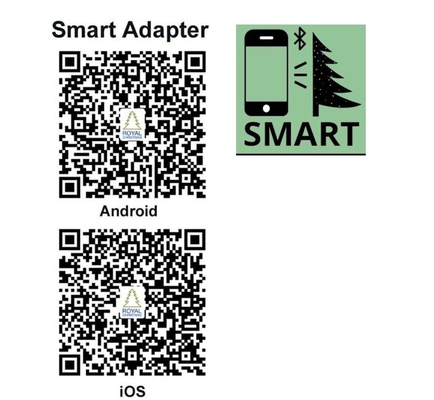 Artificial Christmas Tree Spitsbergen 450 cm LED + Smart Adapter | Royal Christmas®