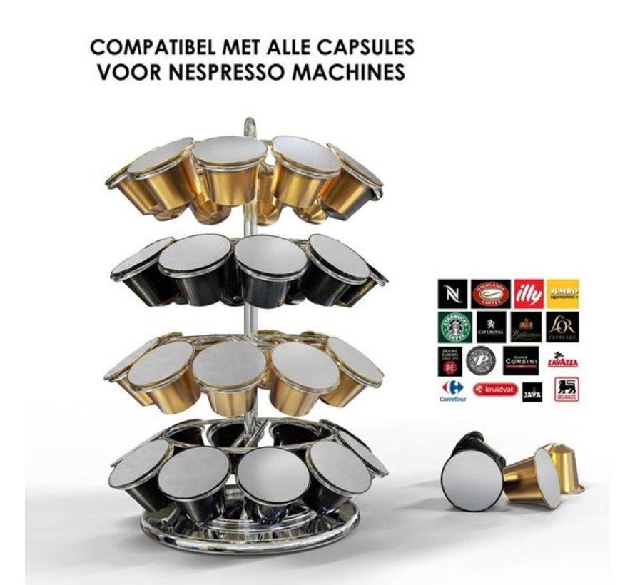De Stijlvolle Koffie Cuphouder voor 40 Capsules