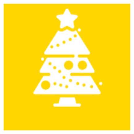Sehr große künstliche Weihnachtsbäume