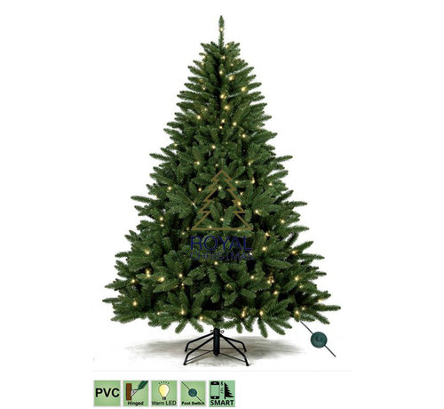 Royal Christmas Kunstkerstboom Washington 360 cm met LED + Smart Adapter | Royal Christmas®