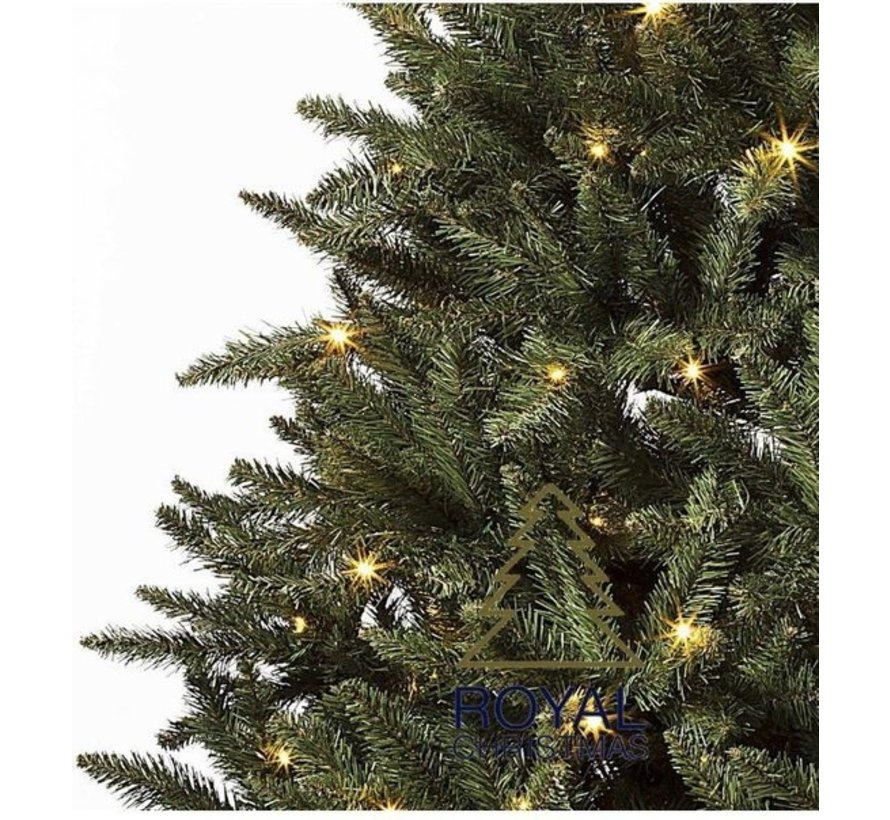 Kunstkerstboom Washington 240 cm met LED + Smart Adapter | Royal Christmas®