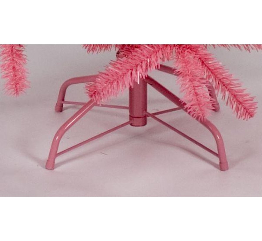 Roze Kunstkerstboom 180 cm