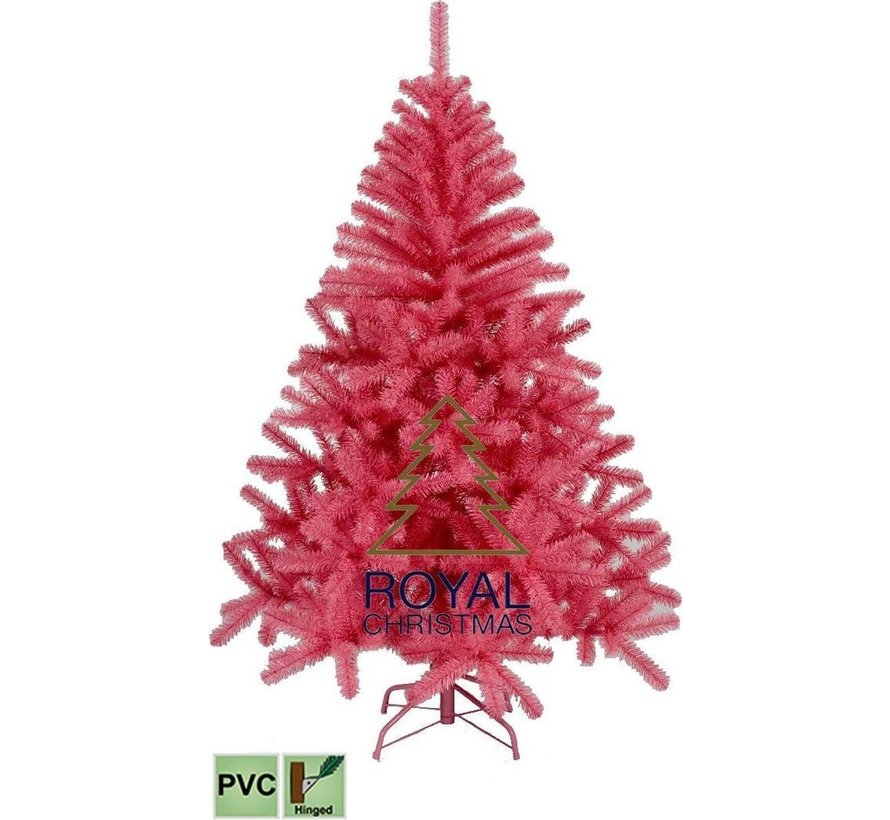 Rosa künstlicher Weihnachtsbaum 150 cm