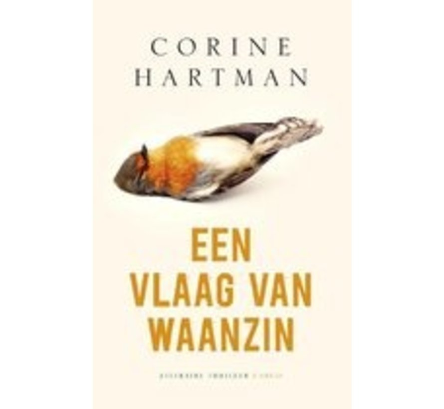 Een vlaag van waanzin van Corine Hartman | Paperback van 288 pagina's