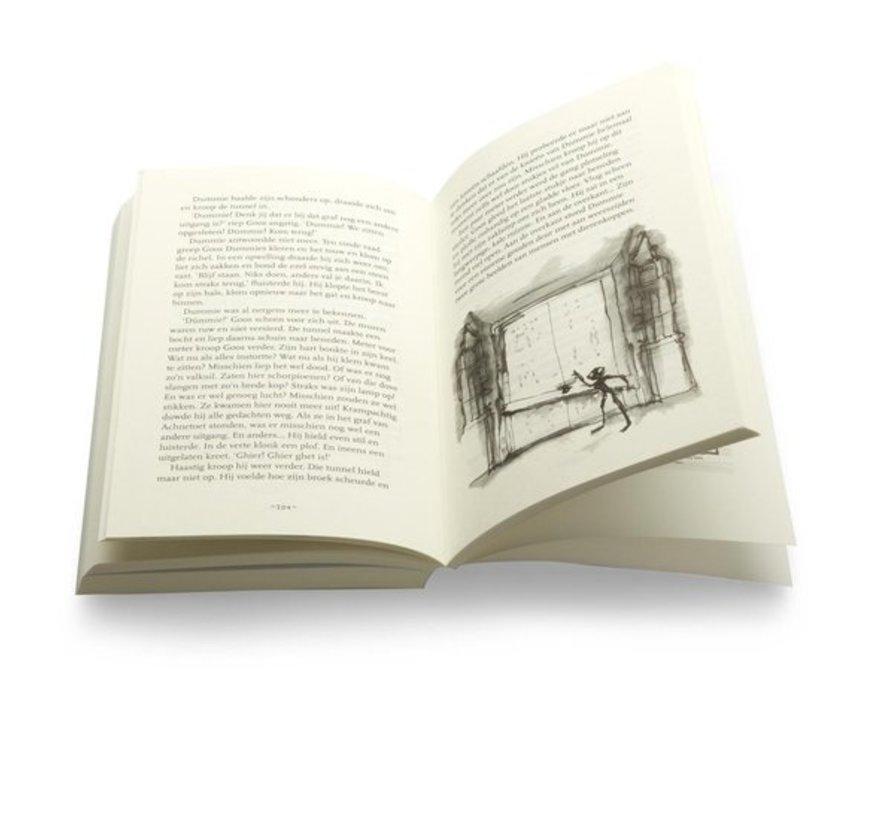 Dummie de mummie 2 - Dummie de mummie en de tombe van Achnetoet van Tosca Menten   Paperback van 256 pagina's