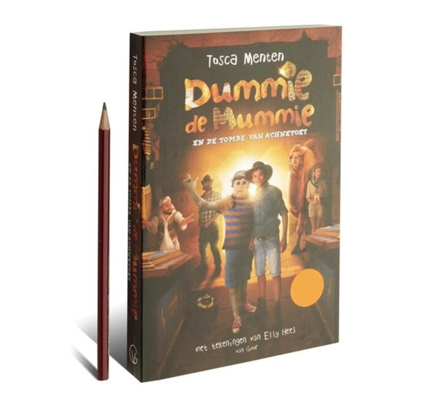 Dummy mummy 2 - Dummie the mummy and the tomb of Achnetoet Tosca Menten | Paperback 256 pages