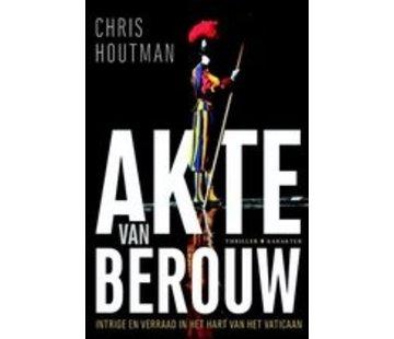Akte van berouw | Chris Houtman