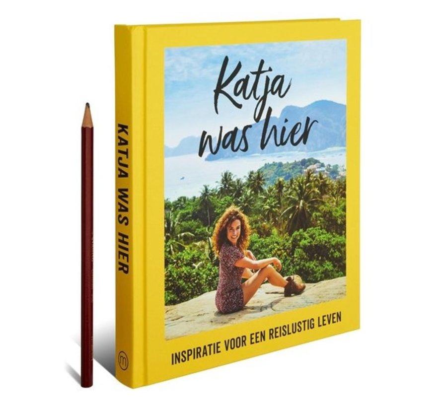 Katja was hier van Katja Schuurman   Hardcover van 176 pagina's