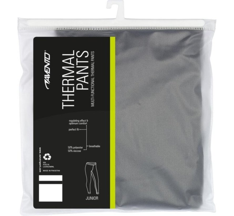Avento Thermo Pants Thermal Pants performance - Size 140 - Unisex - black