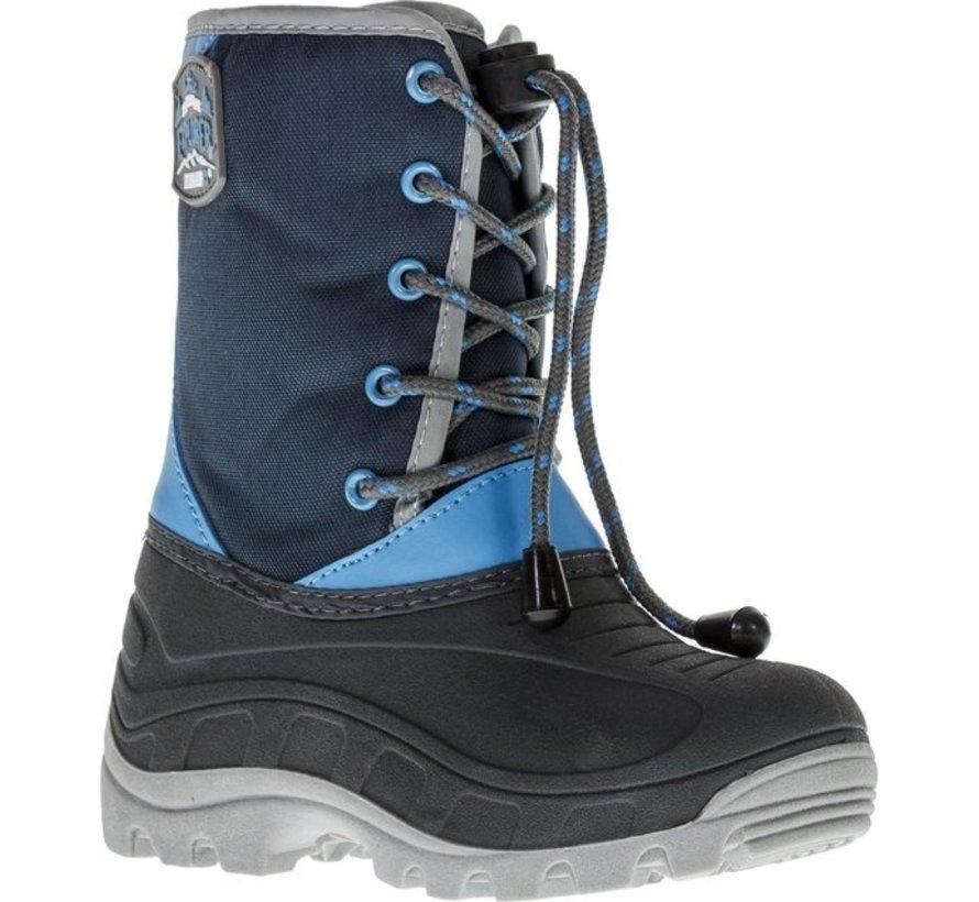 Grip Winter Schneeschuhe - Größe 33 - Unisex - Blau / Grau