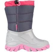 Wintergrip Snowboots - Maat 28-29 - Unisex - grijs/roze