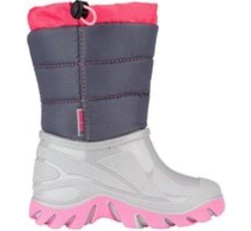 Wintergrip Grip Winter Schneeschuhe - Größe 28-29 - Unisex - Grau / Pink