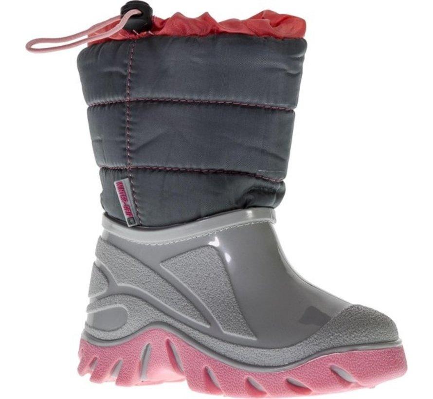 Grip Winter Schneeschuhe - Größe 28-29 - Unisex - Grau / Pink
