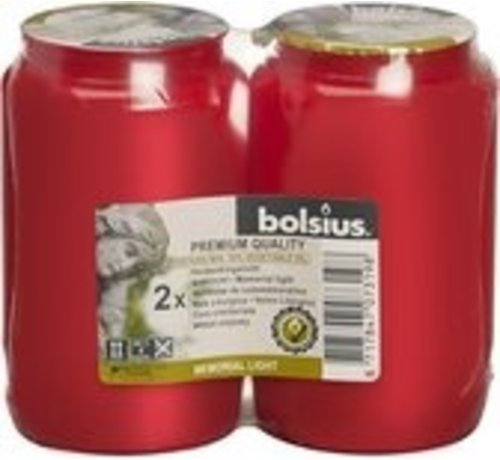 Bolsius Bolsius Herdenkingslicht - 10cm - P/2