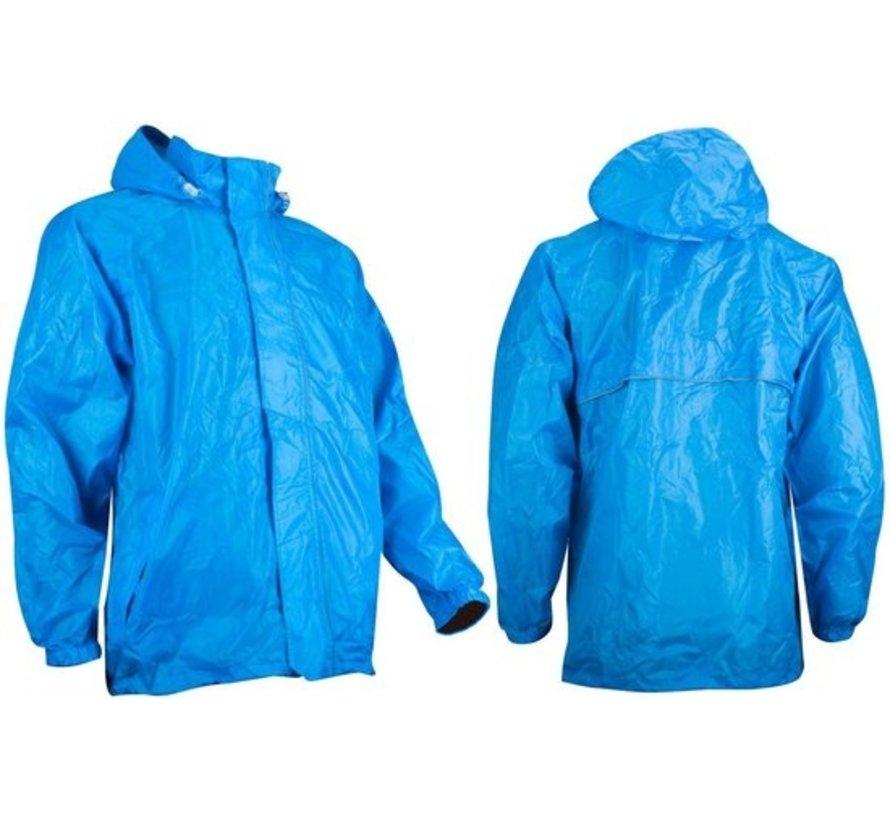 Ralka Regenjas - Volwassenen - Unisex - Blauw